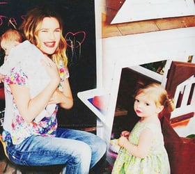 Drew Barrymore opens up about her battle with post-natal depression
