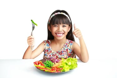 A neat way to get kids to eat their veggies, recommended by nutrition scientists
