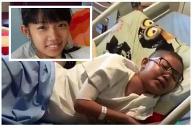 12-year-old leukemia patient in Singapore shone in maths, even on her deathbed