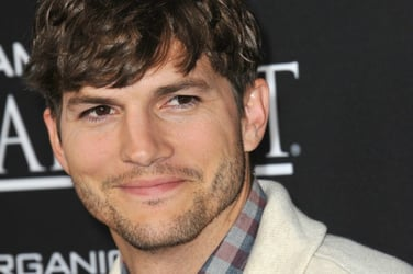 Ashton Kutcher might have shared first ever photo of daughter- for a good cause