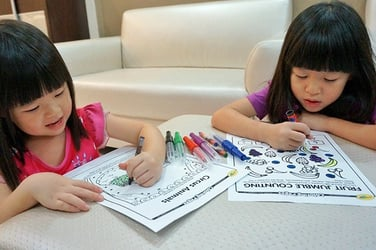 Amazing activity sheets for kids: Learning the fun way