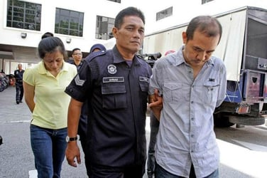 Malaysian couple to hang: They starved their maid to death