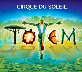 Roll up roll up to Cirque du Soleil TOTEM!