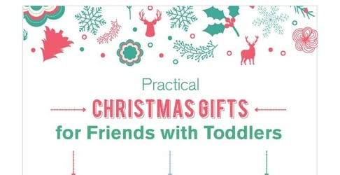 Practical Christmas gift ideas for friends with toddlers