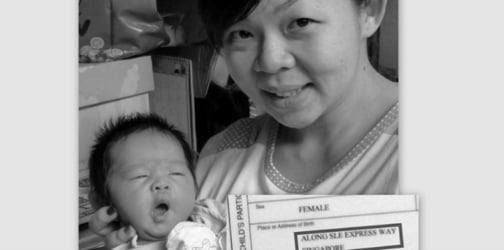 Woman gives birth in her husband's lorry along the expressway!