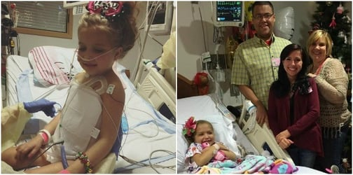 8-year-old meets parents of her multi-organ donor