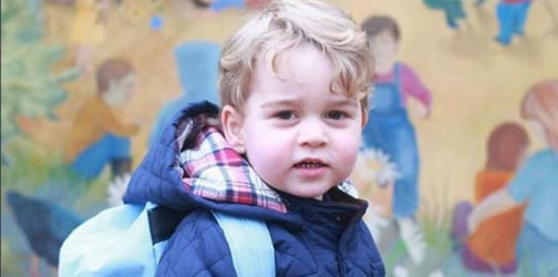 Prince George's first day of school photos are too cute to handle!