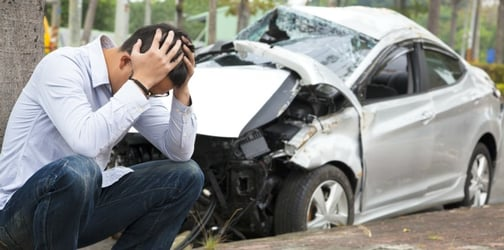 Almost half of all car accidents on Fridays occur on the way home