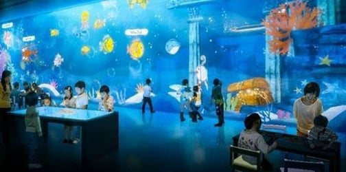 Imagination comes to life in Singapore's first digital creative future space