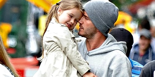 David Beckham proves he is the sweetest dad ever with a single photo