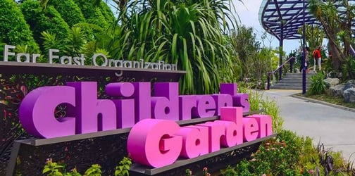 Why the Children's Garden at Garden's By The Bay is actually perfect!