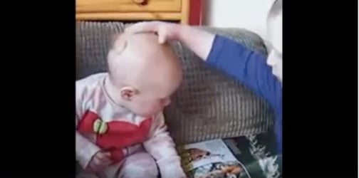 Hilarious video shows the adorable benefits of having a sibling!