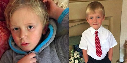 Rare condition causes five-year-old boy to vomit every time he gets excited