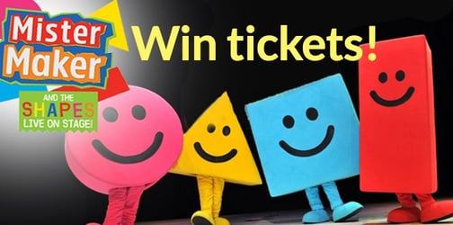 Win tickets to see Mister Maker and theSHAPES live!