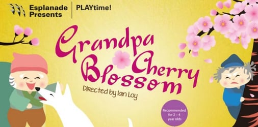 Be sure to catch PLAYtime! Grandpa Cherry Blossom!