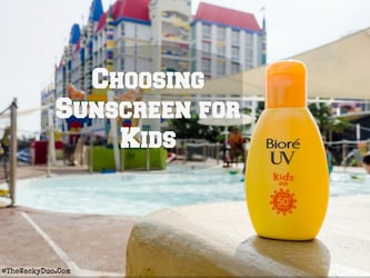 Choosing Sunscreen For Your Kids