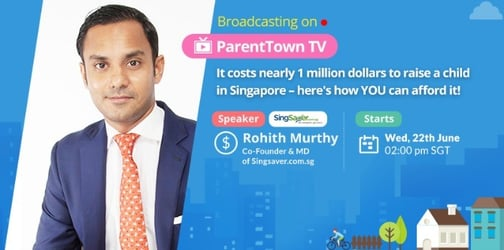 Here's how to afford to raise a child in Singapore!