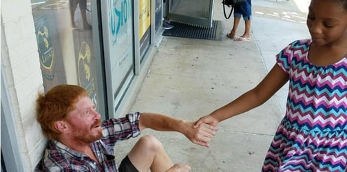 This kid's generousity is touching hearts everywhere