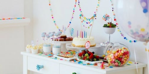 How to put together a dessert table for your kid's party for $150