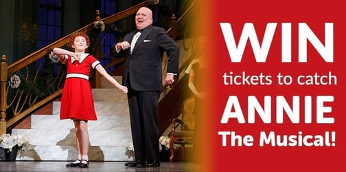 Win tickets to catch Annie The Musical!