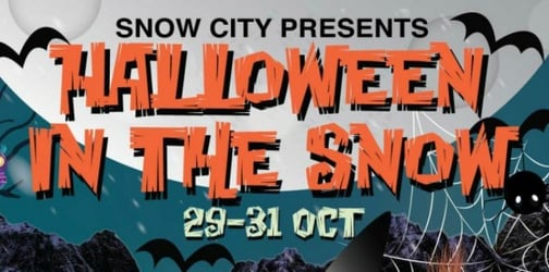 """Win family tickets to """"Halloween In The Snow""""!"""
