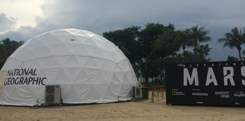 Experience life on Mars in Singapore this weekend (12-13 Nov)