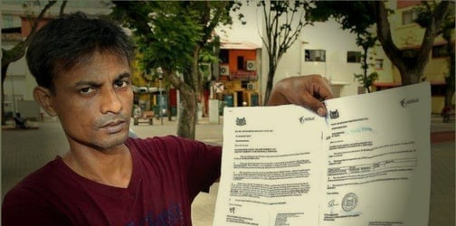 Plight of foreign workers in Singapore: Help for Mr Islam Rafiqul