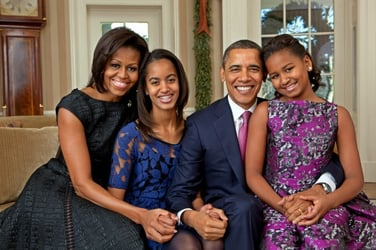 """""""Michelle, for the past 25 years, you have been my best friend""""-Barack Obama"""