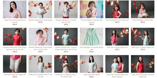 Last Minute Chinese New Year Outfit Ideas for Everyone In the Family!