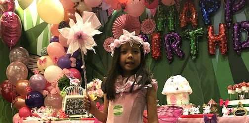 Let your kid's birthday dreams take flight with a special butterfly party