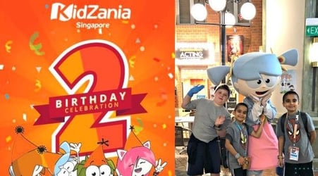 Double the fun at KidZania this April as they celebrate two years!
