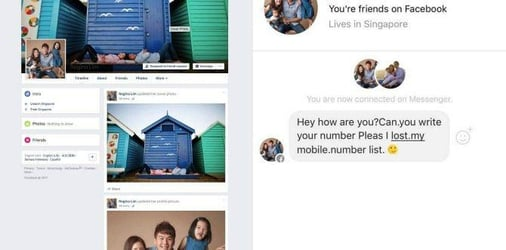 A scammer created a FAKE Facebook profile of this Singapore mum and it could happen to YOU!