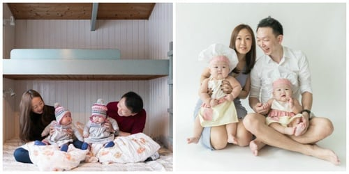 Parents Of Singapore's MoMo Twins Leia And Lauren Share Their Journey With Us!