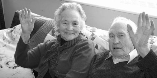 This beautiful couple died within just 4 minutes of each other