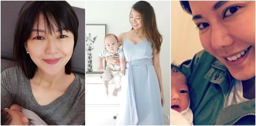 7 Singapore Celebrity Mums Who Gave Birth in Their 40s!
