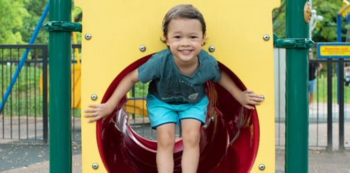 If play is the key to learning, the playground is your child's best classroom