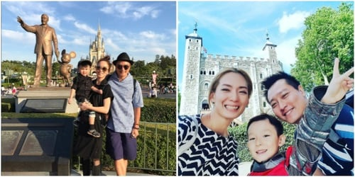 These pictures of Singapore celebrity mums on holiday will give you major #TravelGoals!