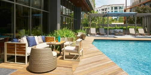 Luxurious accommodation for long-term guests at Oasia Residence, Singapore