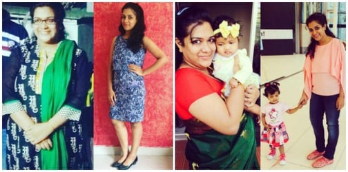 Losing weight after pregnancy: How I lost 30 kilos in 32 weeks!