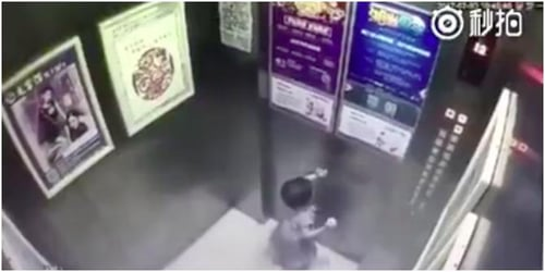 Toddler falls to death in China after being left alone in the lift