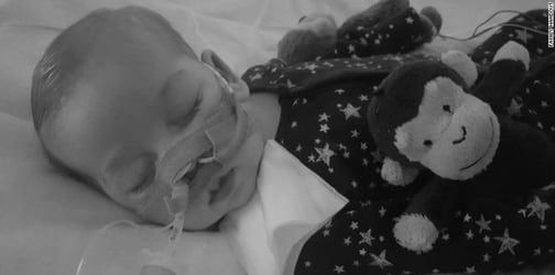 Baby Charlie Gard's life support withdrawn just before his first birthday