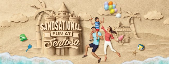 Sand sculptures come to life at Sentosa Island