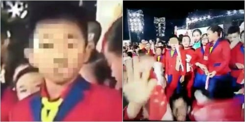 Singapore schoolboy's hand gesture at NDP 2017 goes viral for all the wrong reasons!
