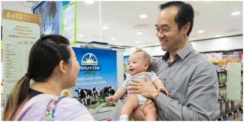 New 'low cost' infant formula in Singapore launched!