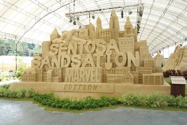Are your kids fans of MARVEL Super Heroes? Bring them to Sentosa Sandsation: MARVEL Edition for a day of super fun!