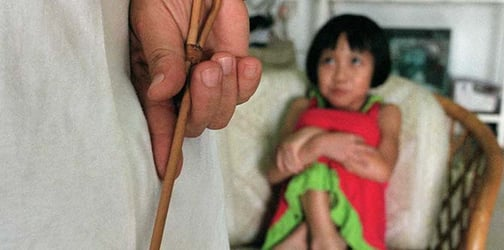 Is Caning a Child Considered Disciplining or Outright Abuse?