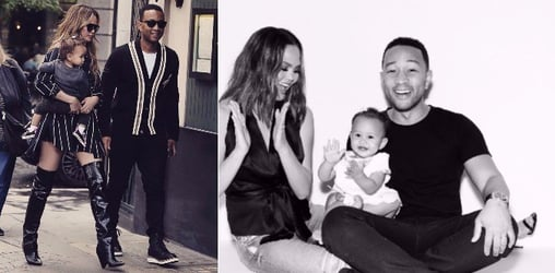 Chrissy Teigen and John Legend expecting their second baby via frozen embryo transfer!