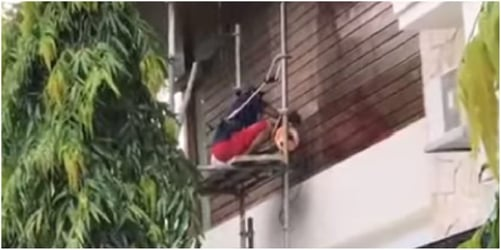 Maid safety in Singapore: Maids spotted working in dangerously unsafe conditions!