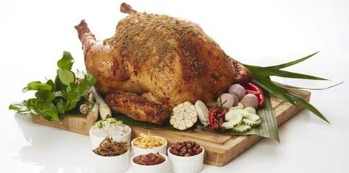 How about a Nasi Lemak Turkey for Christmas this year?