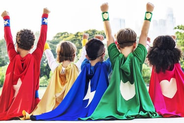 5 ways you can help your children be superheroes in their own right